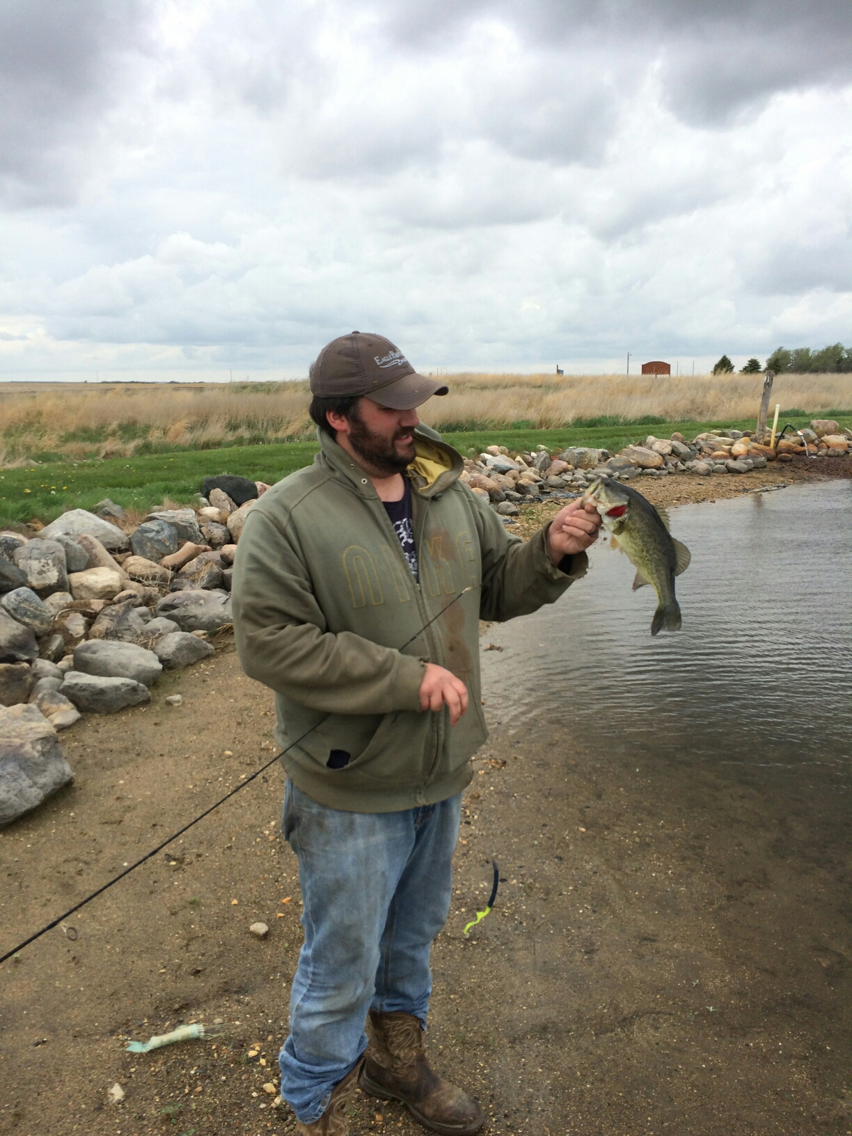 May 16th 2015 lake sharpe pierre sd bassin barry for Missouri river fishing report south dakota